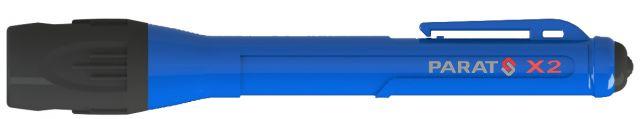 LED-Taschenlampe X2 blau, Hochleistungslampe X2 von Parat