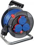 Brennenstuhl Garant Kompakt IP44 Kabeltrommel 15m AT-N05V3V3-F 3G1,5 blau