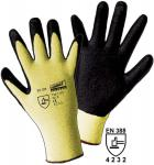 Schnittschutzhandschuh Worky CUTEXX Kevlar®- Nitril Foam Gr. 9   120 Paar