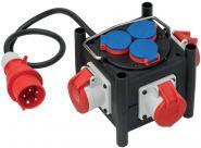 Kompakter Stromverteiler TPE-Gehäuse 1m H07RN-F5G1.5 3xCEE400V + 3x230V