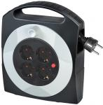 Brennenstuhl Primera-Line Kabelbox 4-fach schwarz/lichtgrau 10m H05VV-F 3G1,5