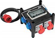Kompakter Stromverteiler TPE-Gehäuse 2m H07RN-F5G2.5 - 2xCEE16A, 5x230V
