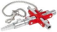 """Knipex 00 11 06 V01 Universalschlüssel """"Bau"""""""