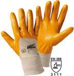 12 Paar Flex-Nitril Handschuhe, gelb