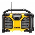DeWalt Baustellenradio DCR017 Netzteil und Akkugerät
