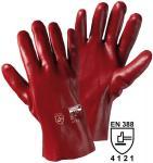 1480 PVC-Handschuh, 27cm, rotbraun (12 Paar)