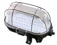 LED Ovalleuchte 4W schwarz