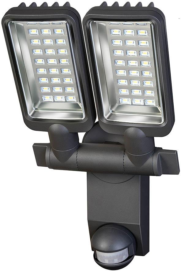Brennenstuhl Solar LED-Strahler Duo SOL SV0805 mit Infrarot Bewegungsmelder